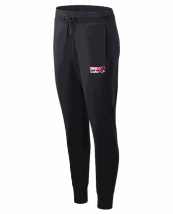 Spodnie dresowe damskie NEW BALANCE WP03806BM czarne
