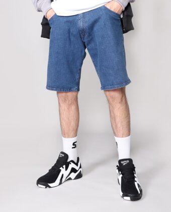 Spodenki jeansowe męskie PROSTO Shorts Kemot niebieskie