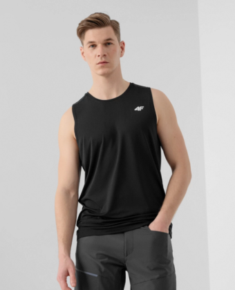 Koszulka treningowa 4F TSMF001 czarna