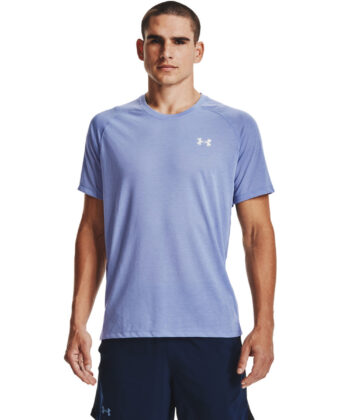 Koszulka treningowa UNDER ARMOUR Streaker SS 1361469 błękitna