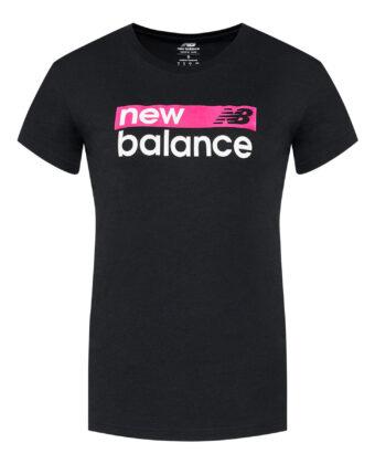 Koszulka damska NEW BALANCE WT03806 czarna