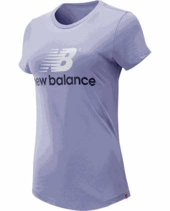 Koszulka damska NEW BALANCE WT93590CAY fioletowa