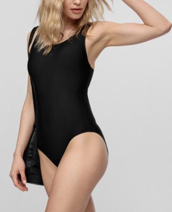Kostium kąpielowy jednoczęściowy damski 4F KOSP001 czarny