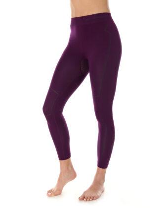 Spodnie termoaktywne damskie THERMO BRUBECK® fioletowe