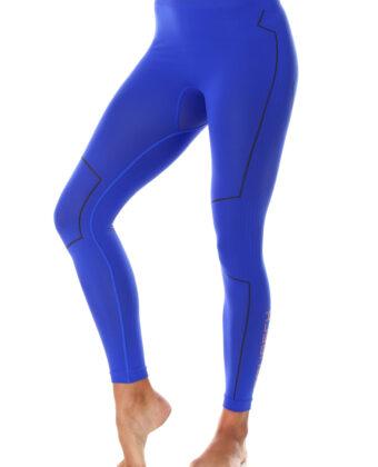 Spodnie termoaktywne damskie THERMO BRUBECK® kobaltowe
