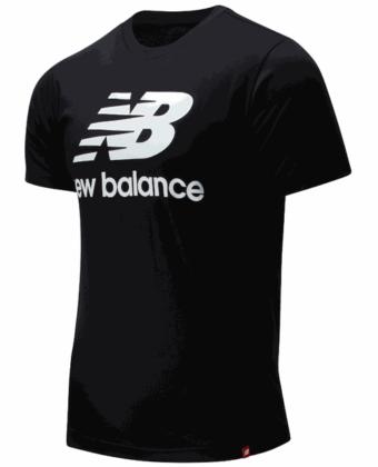 Koszulka męska NEW BALANCE MT01575BK czarna