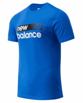 Koszulka męska NEW BALANCE MT03917CO kobaltowa