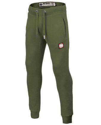 Spodnie dresowe męskie PIT BULL Moss Hilltop oliwkowe