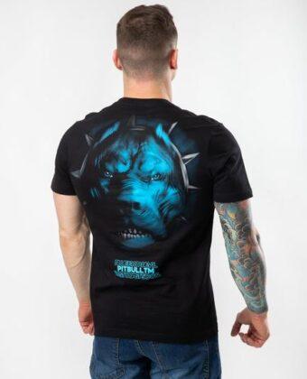Koszulka męska PIT BULL Bed V czarna