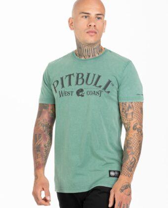 Koszulka męska PIT BULL San Diego 89 zielona