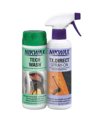 Zestaw Tech Wash + TX Direct Spray 2x300ml NIKWAX