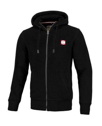 Bluza męska PIT BULL Hooded Zip: Hilltop 2 czarna