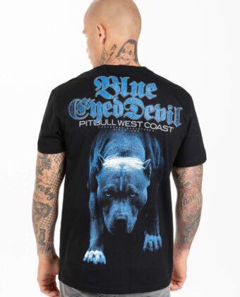 Koszulka męska PIT BULL Blue Eyed Devil 21 czarna