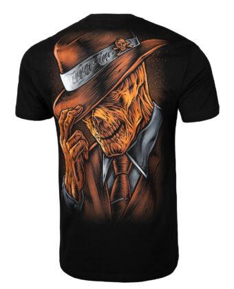 Koszulka męska PIT BULL Man In Hat czarna