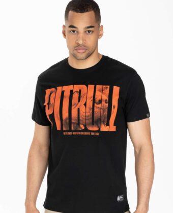 Koszulka męska PIT BULL Orange Dog czarna