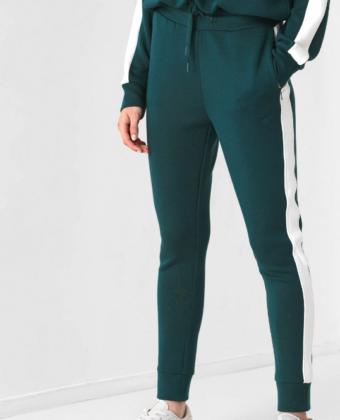 Spodnie dresowe damskie 4F SPDD013 zielone