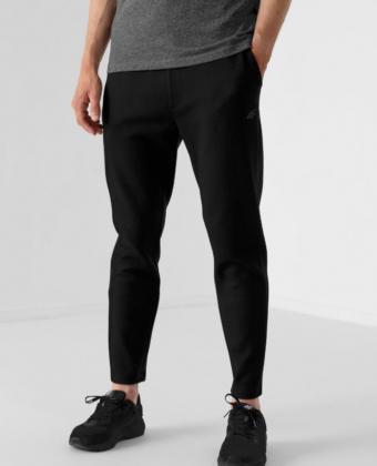 Spodnie dresowe męskie SPMD010 czarne