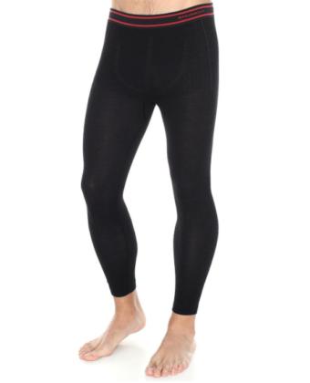 Spodnie termoaktywne męska ACTIVE WOOL BRUBECK® czarne